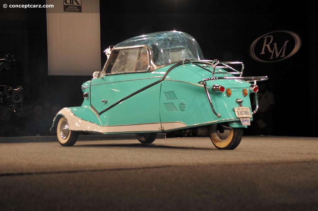 Sold Messerschmitt Kr200 3 Wheeler Microcar Auctions: 1956 Messerschmitt KR200