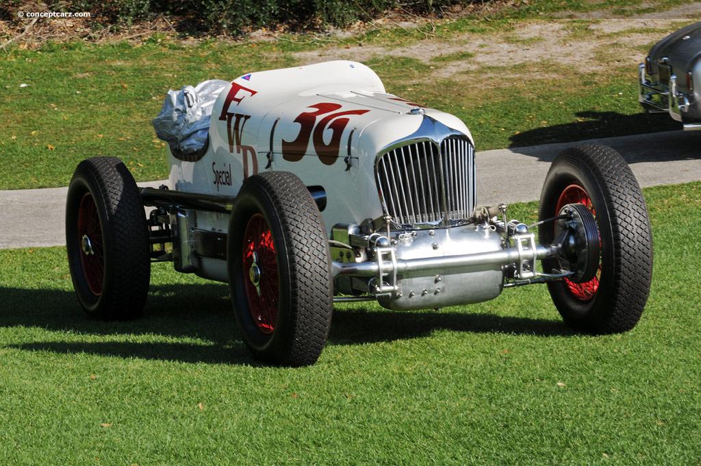 offy Drove midget four-wheel-drive