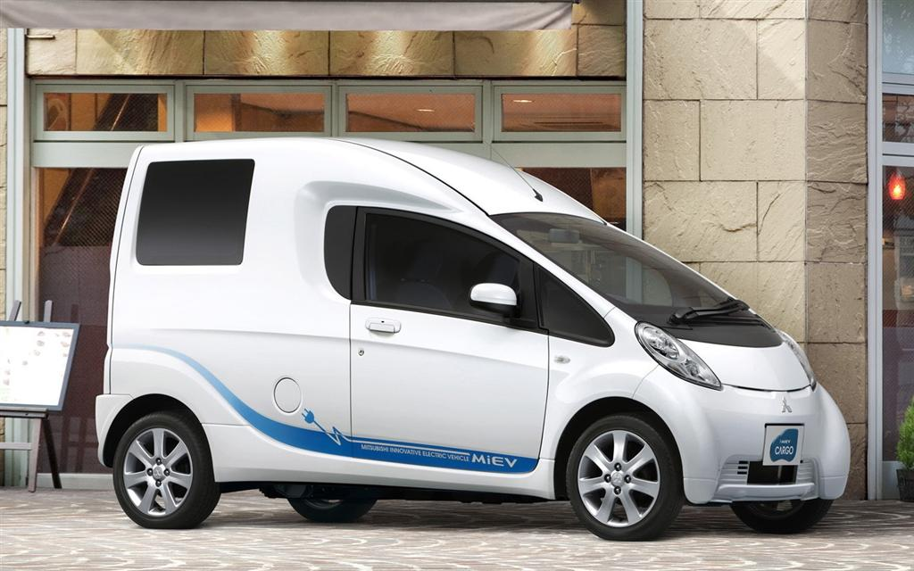 2010 Mitsubishi I Miev Cargo Concept Pictures News Research Pricing