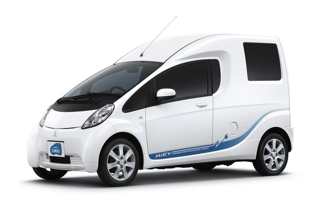 2018 mitsubishi i miev. Unique Miev WORLD PREMIERE IMiEV CARGO Derived  On 2018 Mitsubishi I Miev