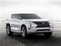 2016 Mitsubishi GT-PHEV Concept image.