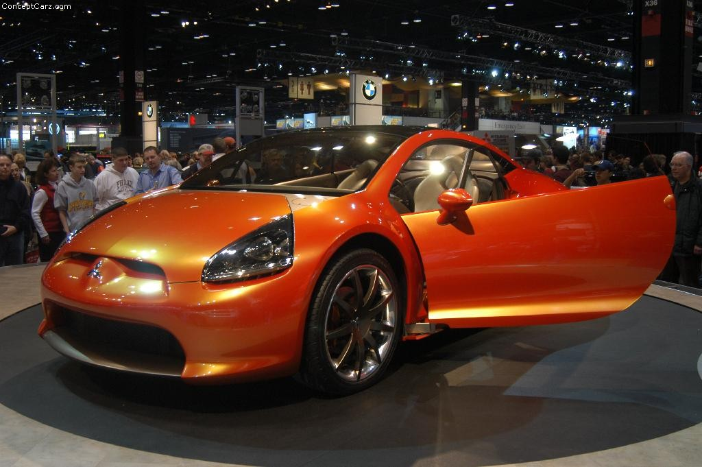 2004 Mitsubishi Eclipse Concept-E Images. Photo ...