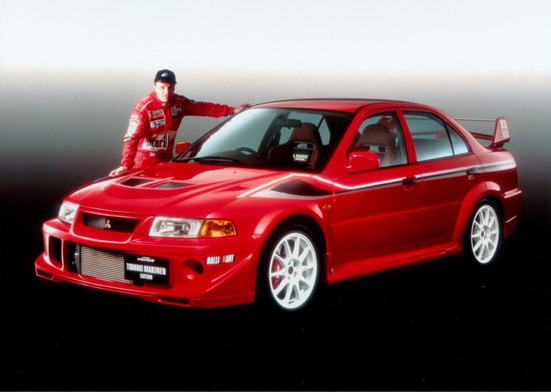 to commemorate - Mitsubishi Lancer Evo 2000