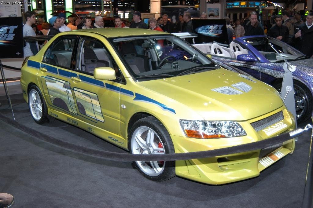 2002 Mitsubishi Lancer Evolution FaF Images Photo
