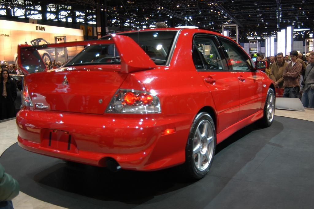 Mitsubishi Lancer Evo 2004 2004 Mitsubishi Lancer...