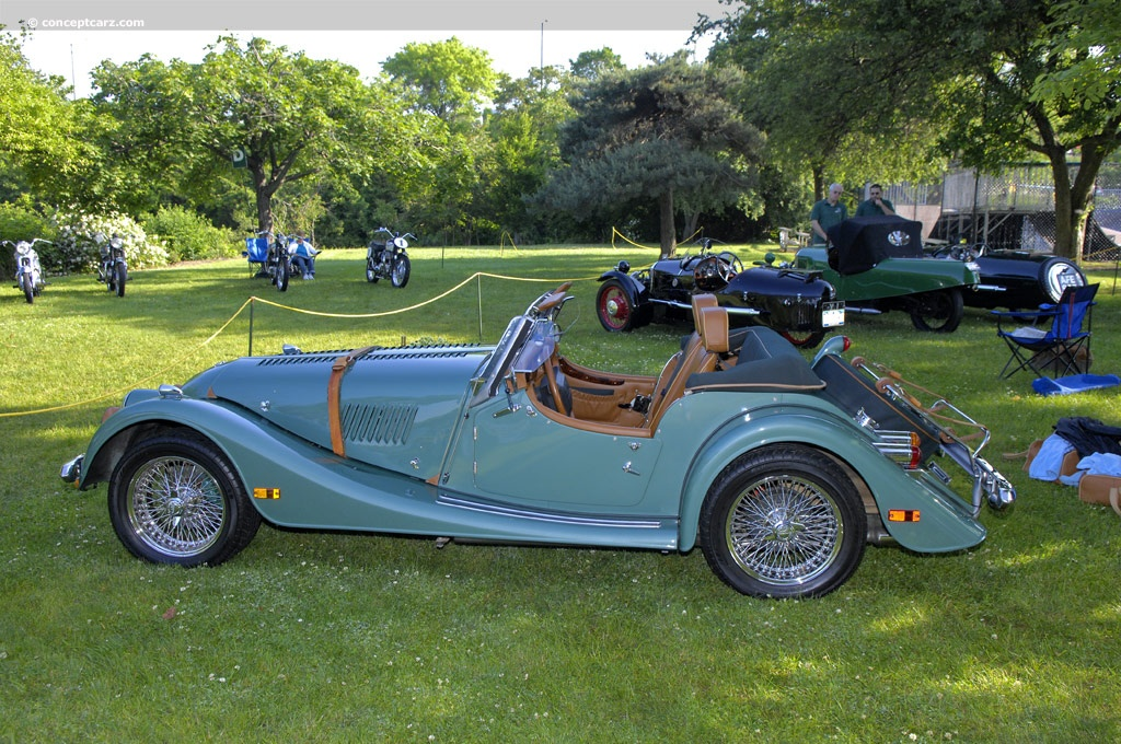 2003 Morgan Plus 8 at the Greenwich Concours dElegance  European
