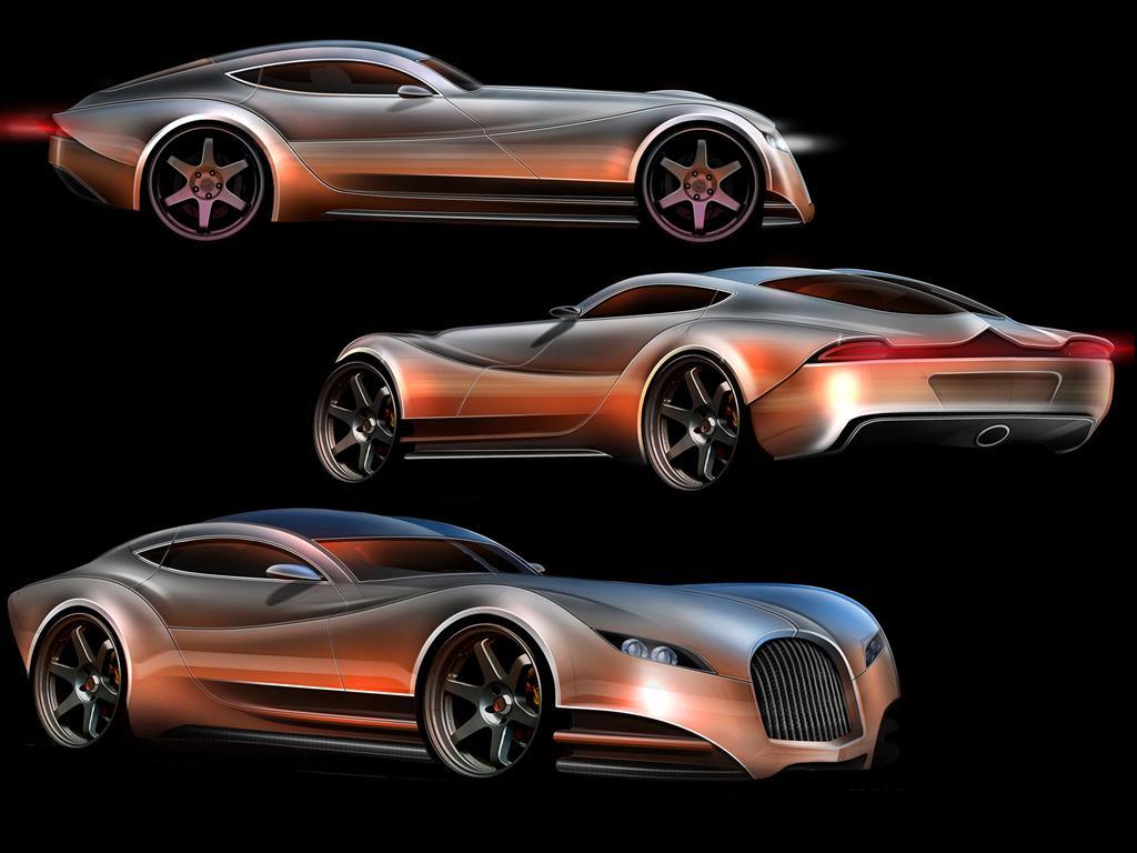 2010 morgan evagt concept conceptcarz chassis the morgan evagt vanachro Images