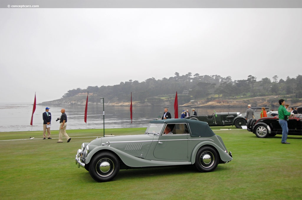 1952 morgan plus four at the pebble beach concours d 39 elegance. Black Bedroom Furniture Sets. Home Design Ideas