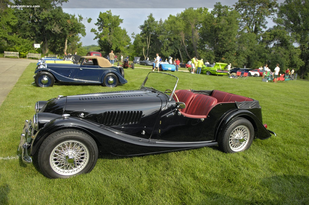 1960 morgan plus four at the 32nd annual ault park concours d 39 elegance. Black Bedroom Furniture Sets. Home Design Ideas