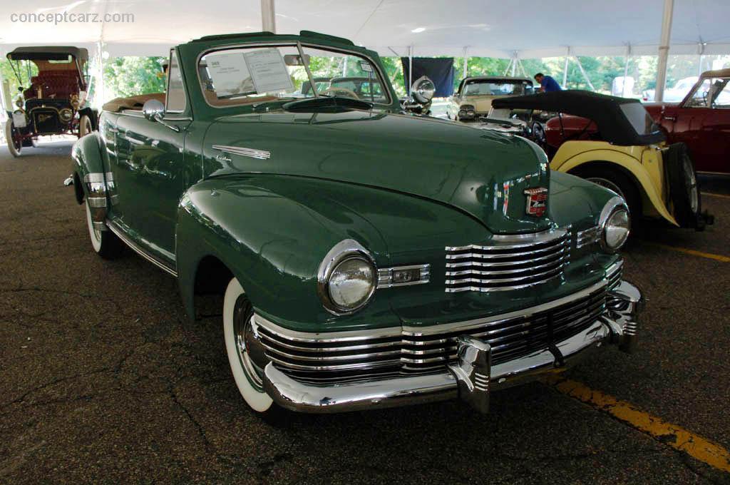 1948 Nash Ambassador Image Chassis Number R491581