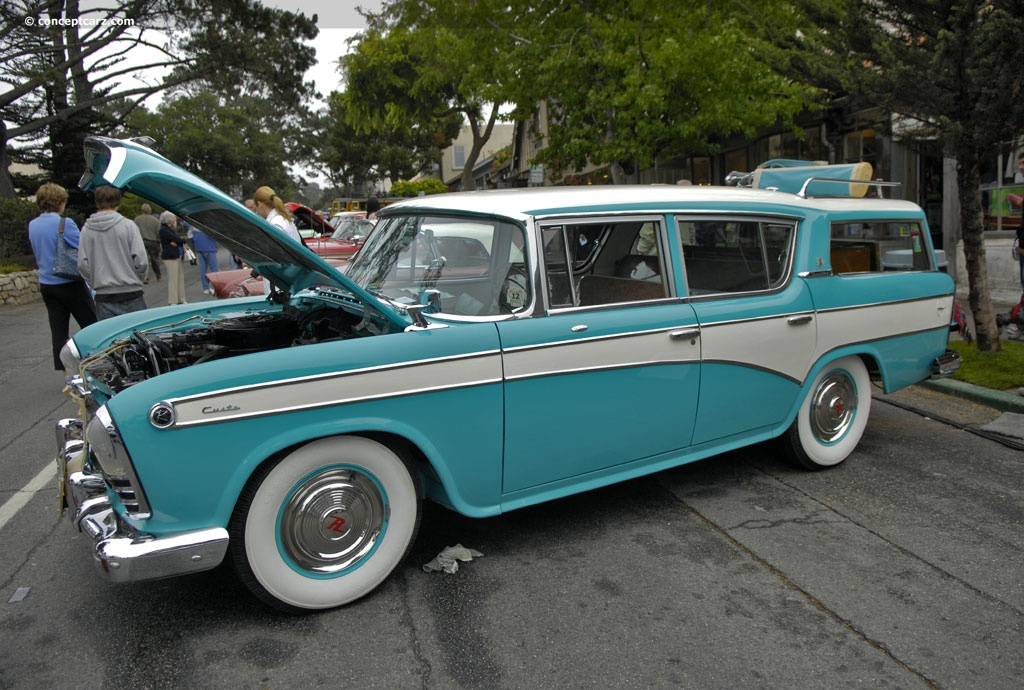 1957 Nash Rambler At The Carmel By The Sea Concours On The