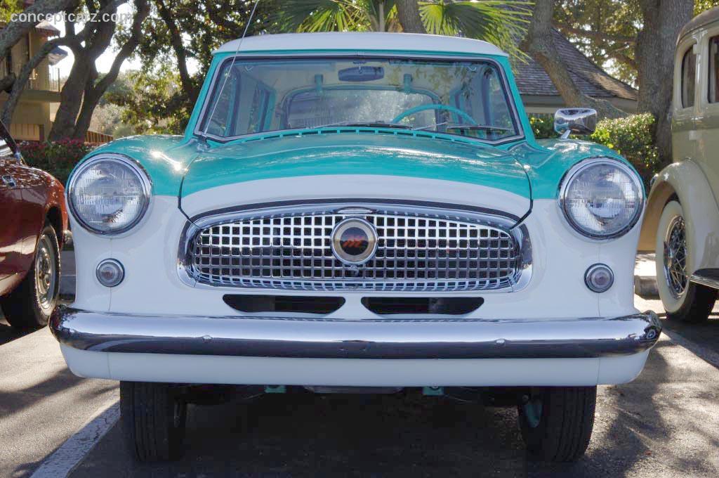 1957 Nash Metropolitan - conceptcarz.com