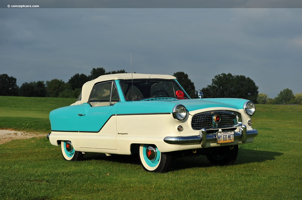 1960 Nash Metropolitan Pictures, History, Value, Research