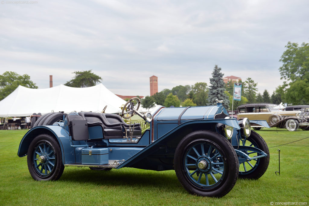 1913 National Series V At The Concours D 39 Elegance Of