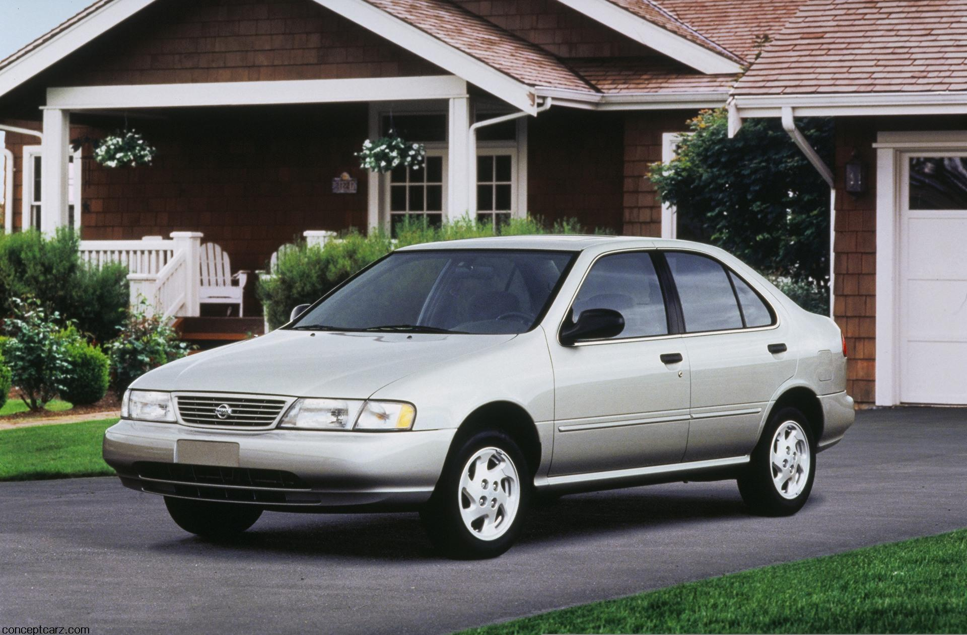 1997 nissan sentra pictures history value research news. Black Bedroom Furniture Sets. Home Design Ideas