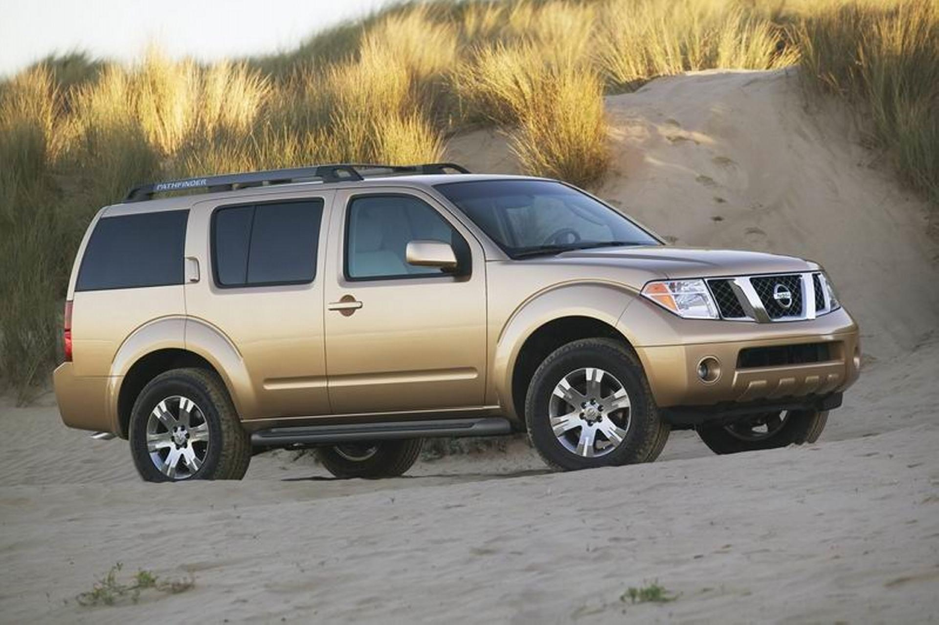 2007 nissan pathfinder pictures history value research news. Black Bedroom Furniture Sets. Home Design Ideas