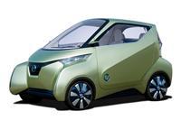 2012 Nissan PIVO 3 EV Concept image.
