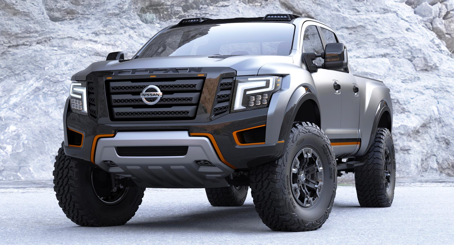 2016 nissan titan warrior concept. Black Bedroom Furniture Sets. Home Design Ideas