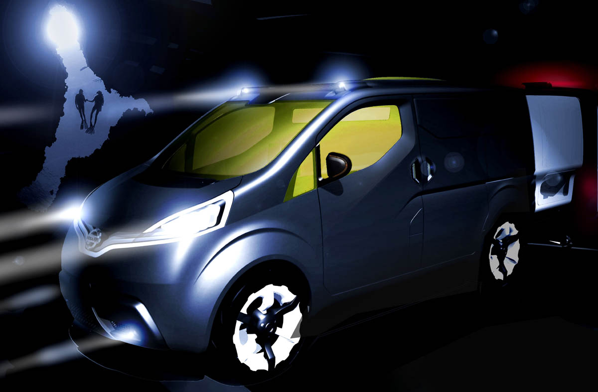 2008 nissan nv200 concept conceptcarz vanachro Images