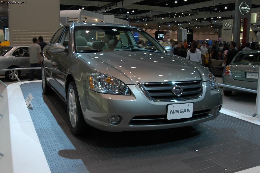 2003 nissan altima pictures history value research news. Black Bedroom Furniture Sets. Home Design Ideas