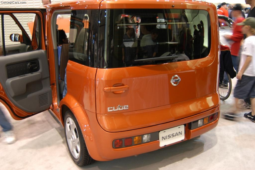 nissan cube orange images. Black Bedroom Furniture Sets. Home Design Ideas