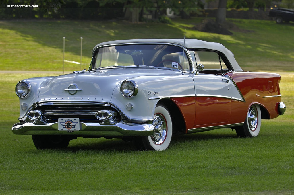 1954 Oldsmobile Ninety Eight Starfire 98 Conceptcarz
