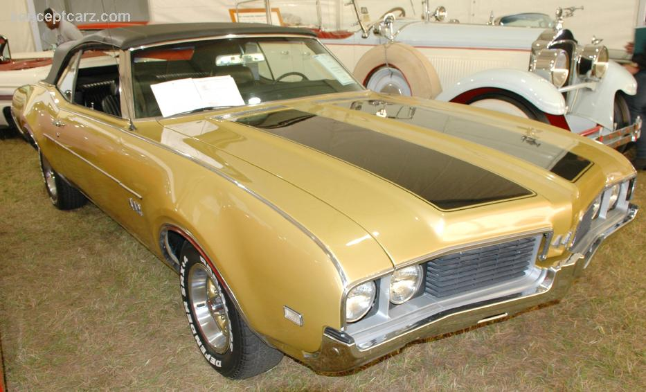 1969 Oldsmobile 442 Image Chassis Number 344679m102977