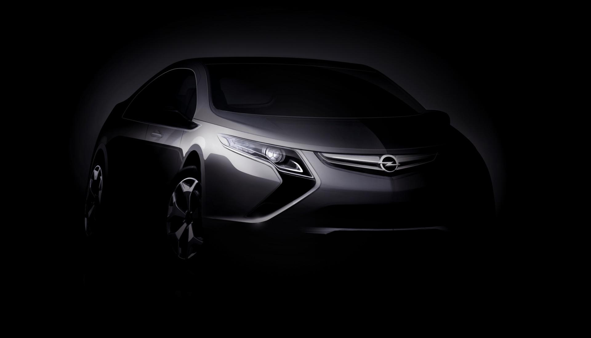 Opel Ampera Wallpaper Opel Cars Wallpapers Hd Wallpapers