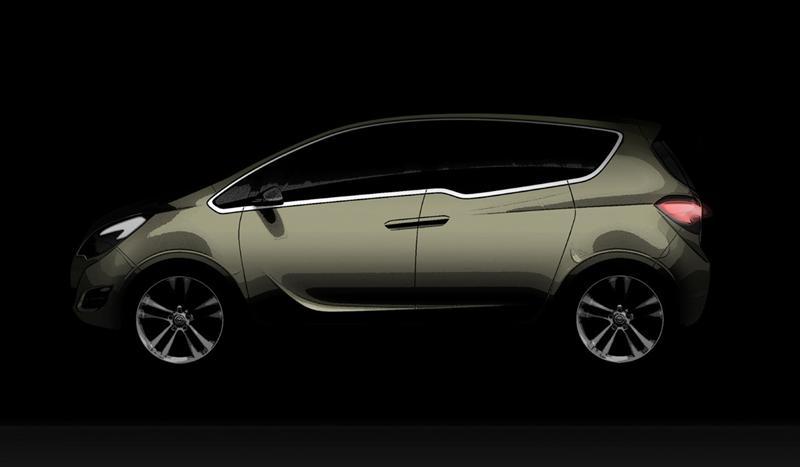 2008 Opel Meriva Concept Image
