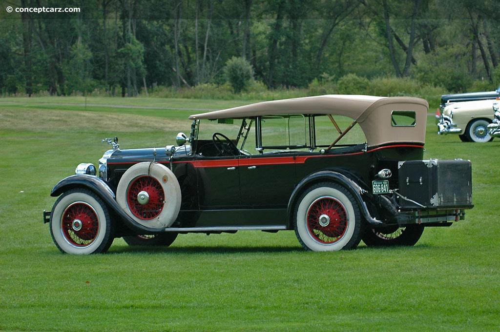 1928 Packard Model 526 Six Conceptcarz Com