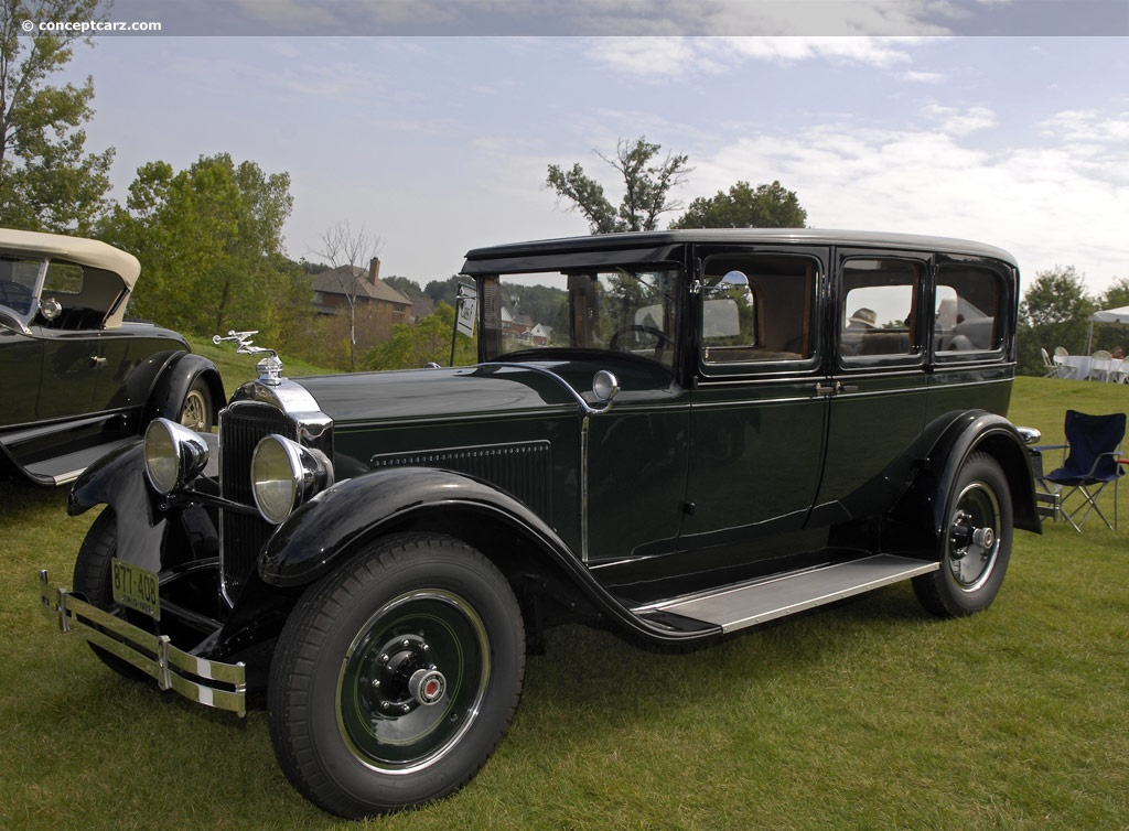 1929 Packard 633 Sixth Series Standard Eight Conceptcarz