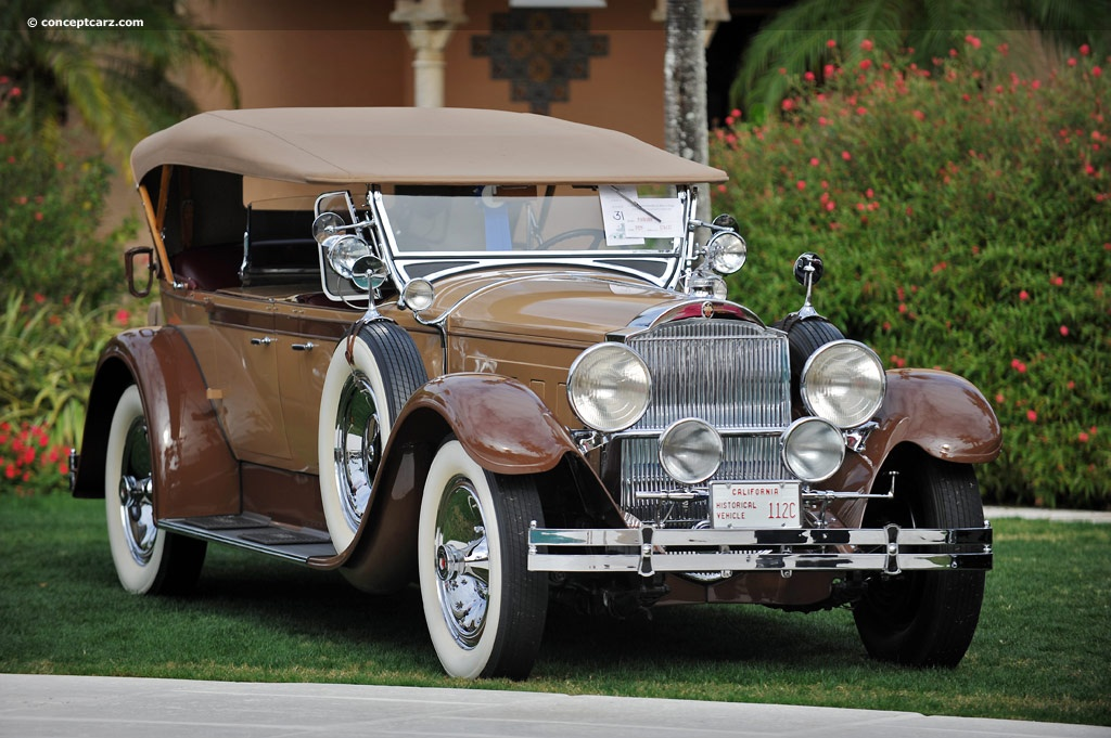 1929 Packard 640 - Information and photos - MOMENTcar