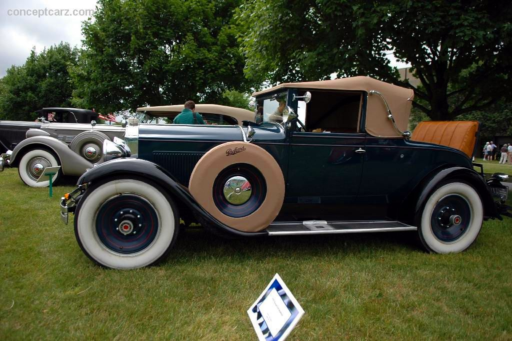 1929 PACKARD EIGHT CONVERTIBLE COUPE - 96783
