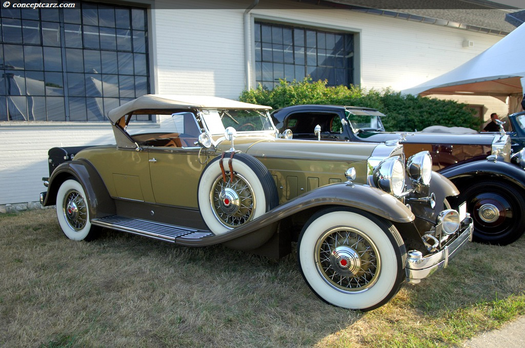 1931 Packard Model 840 DeLuxe Eight Image