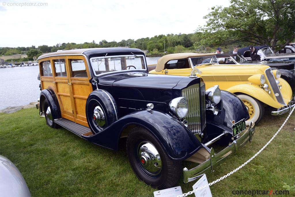 1934 Packard 1101 photos