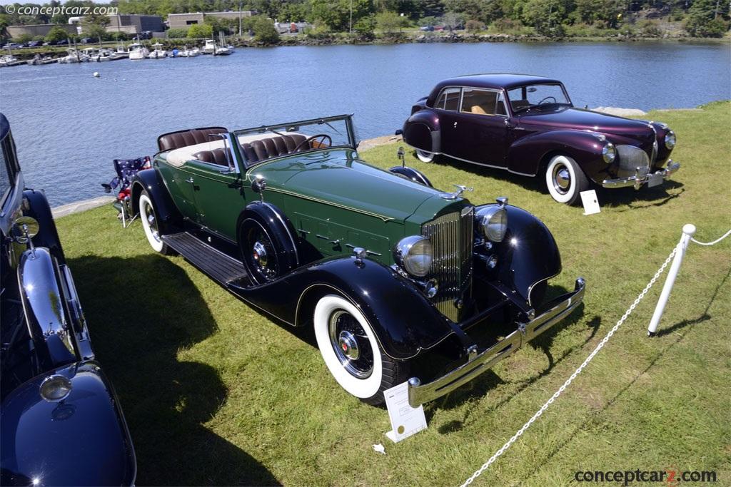 1934 Packard 1104 Super Eight photos