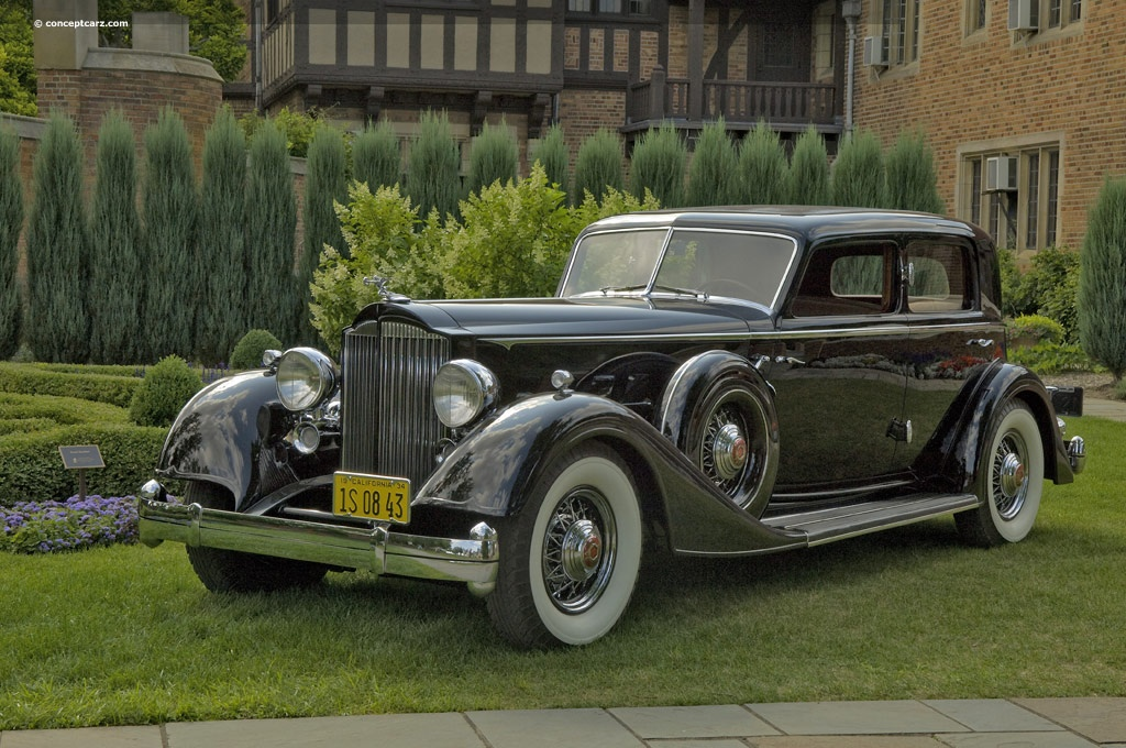 Auction Results And Data For 1934 Packard 1108 Twelve