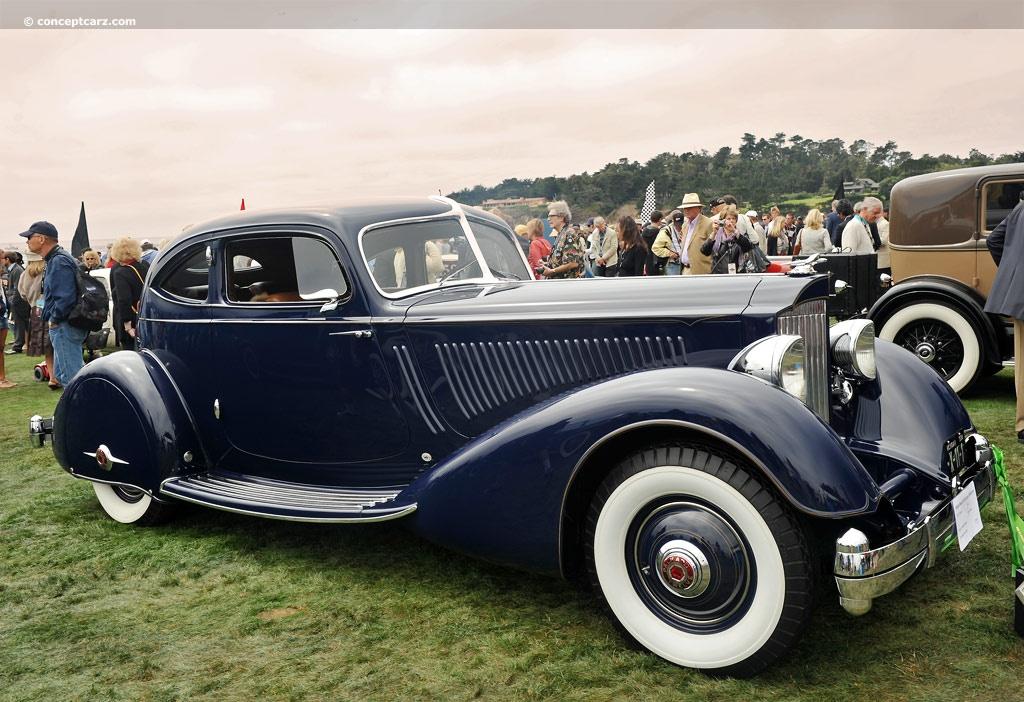 1934 Packard 1106 Twelve - Conceptcarz