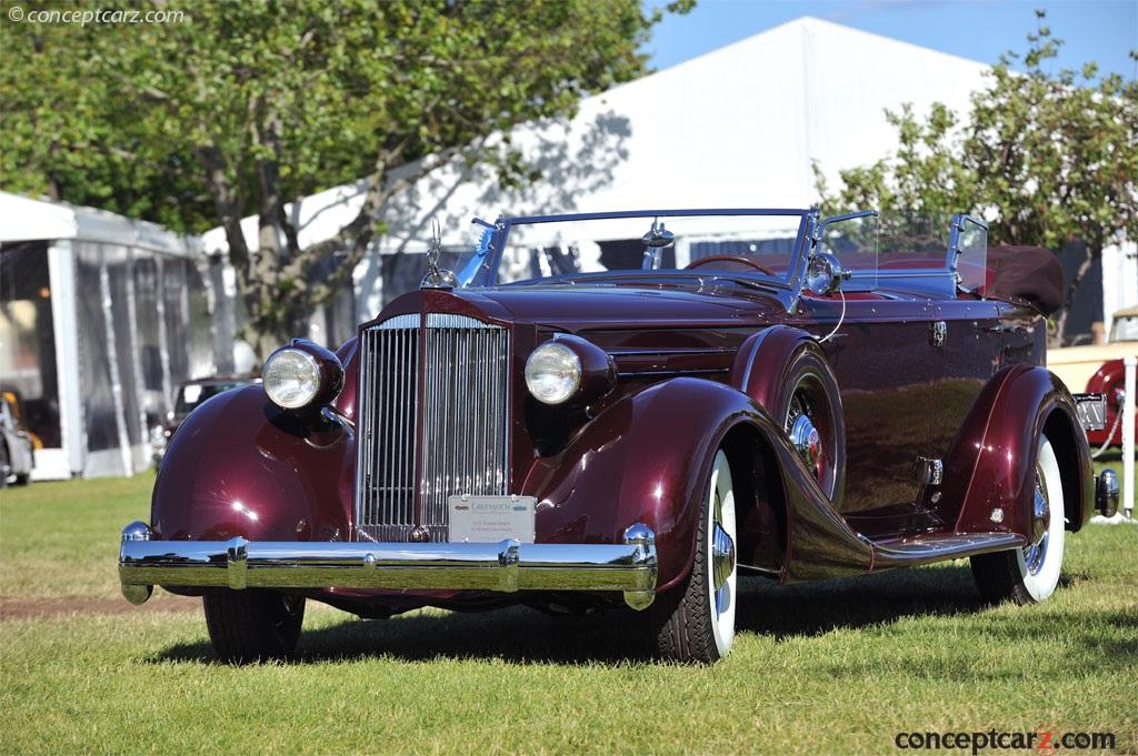 1935 Packard Twelve photos