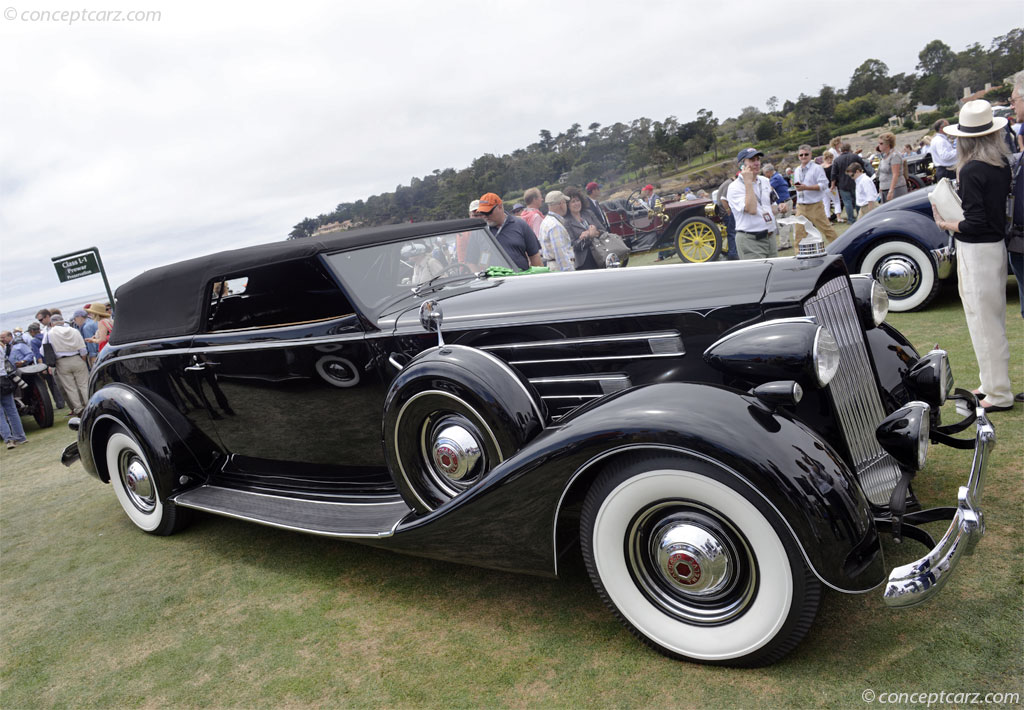 1937 Packard 1508 Twelve photos