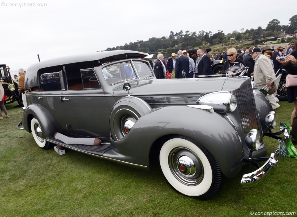 1938 Packard 1605 Super Eight Image