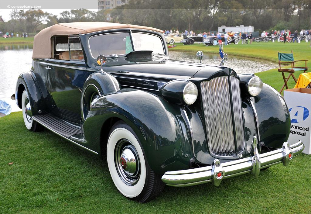 1938 Packard 1607 Twelve - Conceptcarz