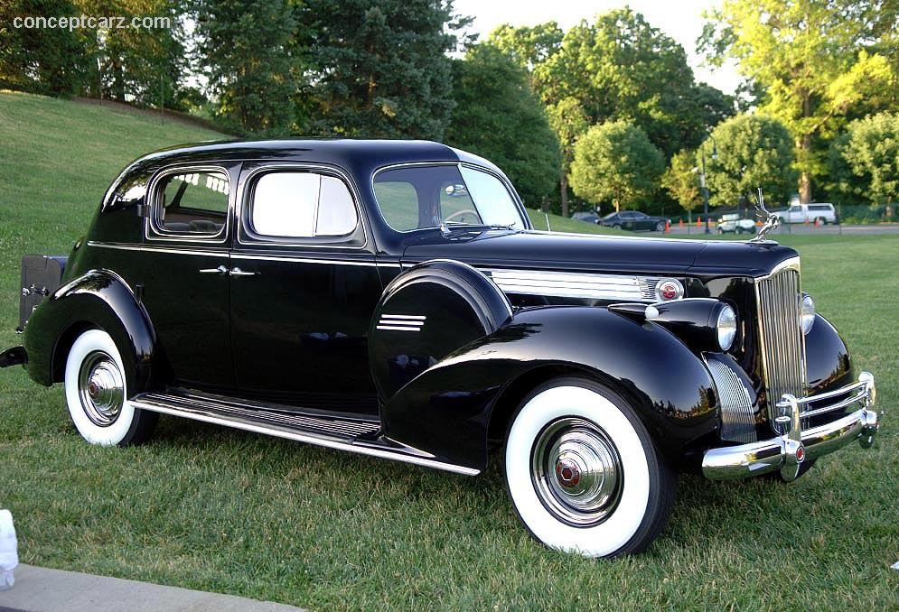 1940 Packard Custom Super 8 180 at the Ault Park Concours ...