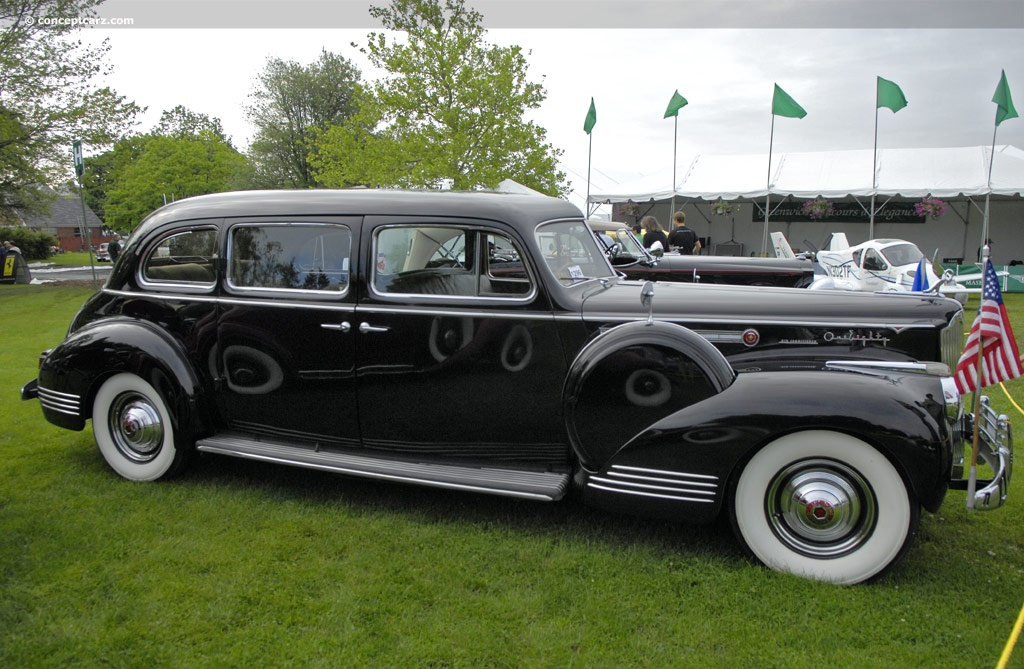 1941 Packard Super 8 180 At The Greenwich Concours D