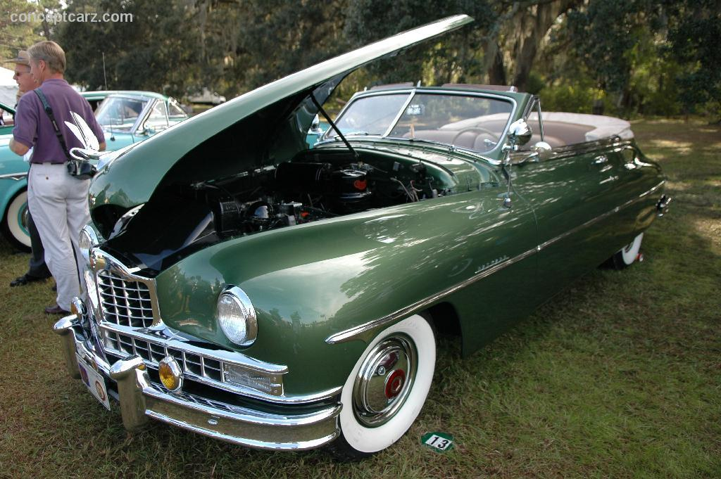 1950 Packard Custom Eight Conceptcarz