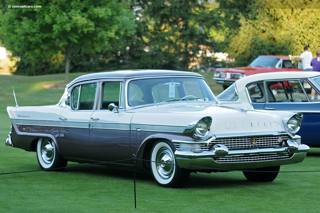 Auction Results And Data For 1957 Packard Clipper