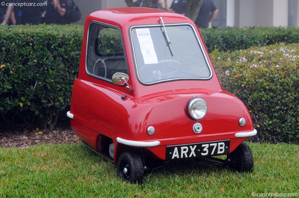Auction Results And Data For 1964 Peel P50 Conceptcarz Com