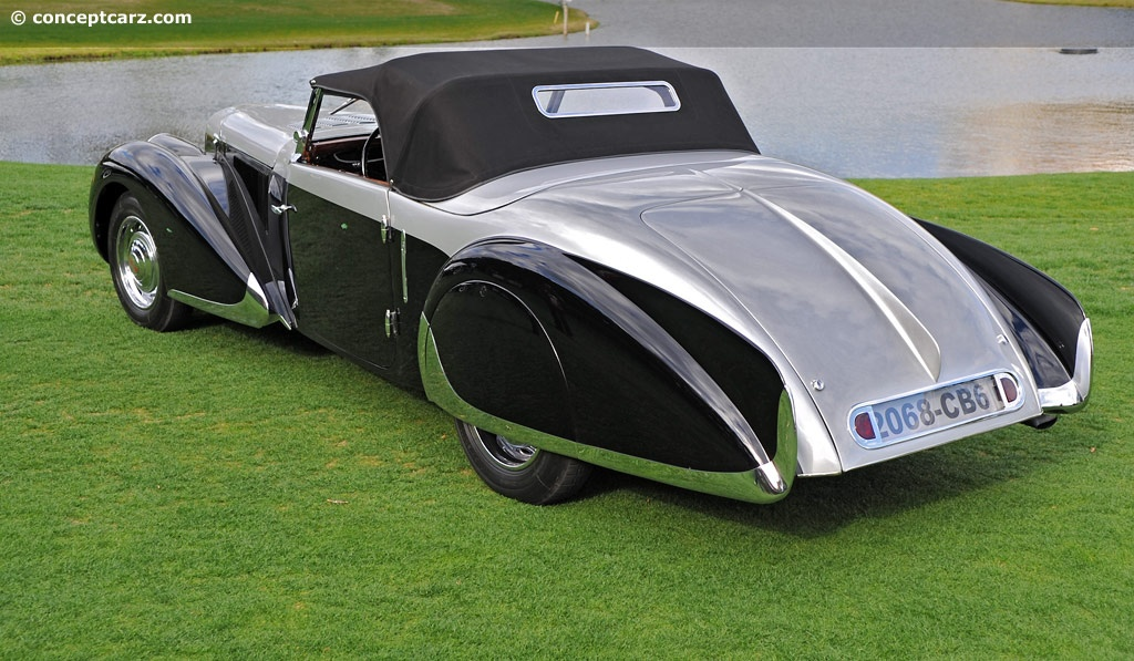 1937 Peugeot 402 Darl Mat Pourtout Conceptcarz Com