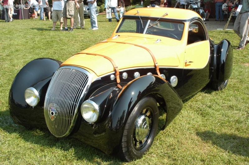 1937 Peugeot 402 Darl Mat Pourtout At The The 100 Motor