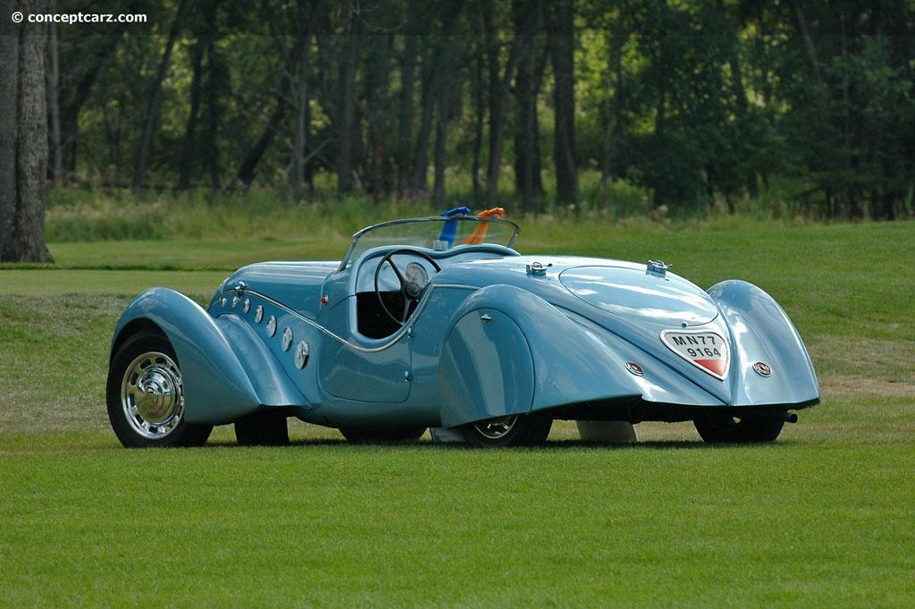 1938 Peugeot 402 Darlmat Pourtout Conceptcarz Com